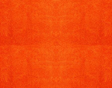 textura: Struttura di un telo di cotone arancione come sfondo