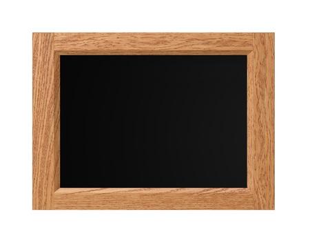 blackboard isolated: Blackboard isolated on white background