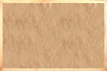oud papier in frame als achtergrond Stockfoto