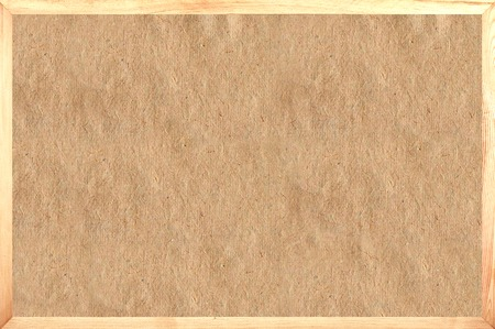 tablero: papel viejo en marco como fondo Foto de archivo