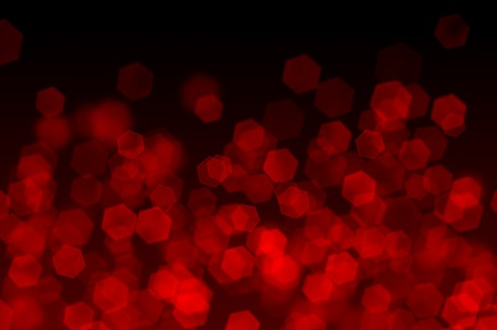 Red Bokeh as Background Stock Photo