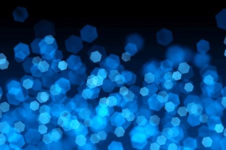 Blue Bokeh as Background