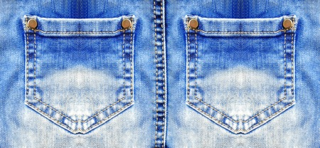 bluejeans: Blue jeans with pocket closeup