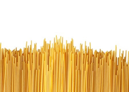 pasta isolated: Delicious pasta isolated on white Stock Photo