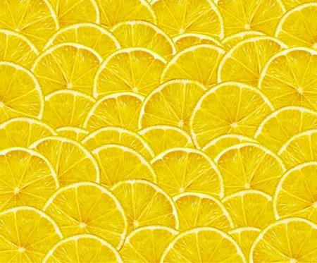 lemon slices: fresh yellow lemon slices such as fruit background