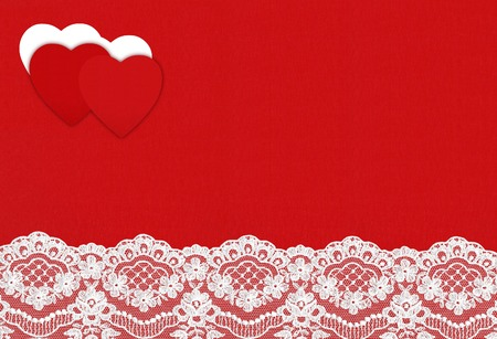 st  valentin: Felt Background for design to Valentines Day with Hearts. Valentines Day concept