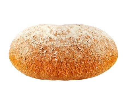 tasty rye bread isolated on white background Zdjęcie Seryjne