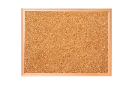 cork-board isolated on white background Stock fotó - 76769986