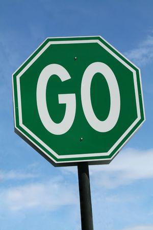 initiate: Go Sign
