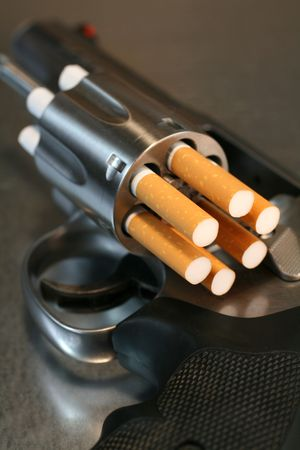 killing cancer: Cigarette Revolver