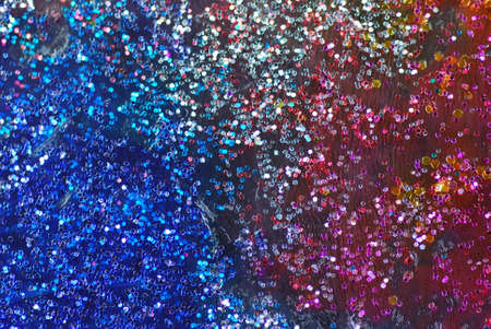 colored backgound: close up shot of a multi colored backgound Stock Photo