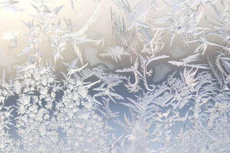 氷の結晶、ウィンドウ上のショットを閉じる