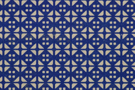 differed: blue colored background with many differed patterns