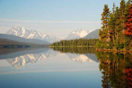 turner lake canada british columbia Stock Photo