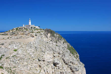 mallorca: lighthouse on the island mallorca Stock Photo