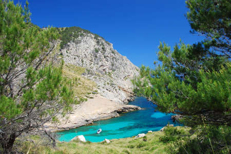 beautiful beach on the island mallorca Stock Photo - 3747003