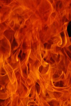 火災 flammes の撮影を間近で美しい 写真素材
