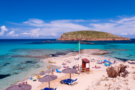 イビサ島の風景