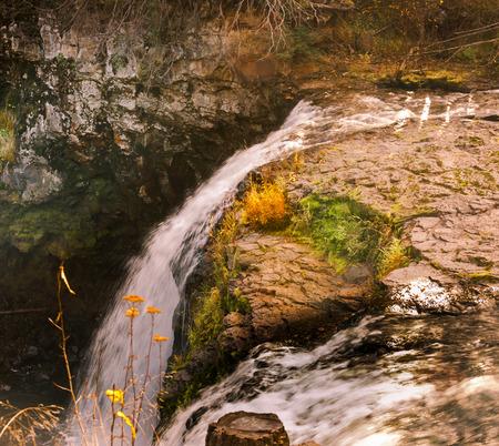 カナダ ブリティッシュ コロンビア州の滝