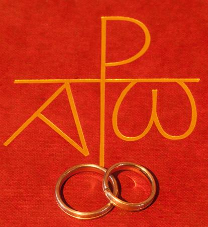 結婚指輪と聖書
