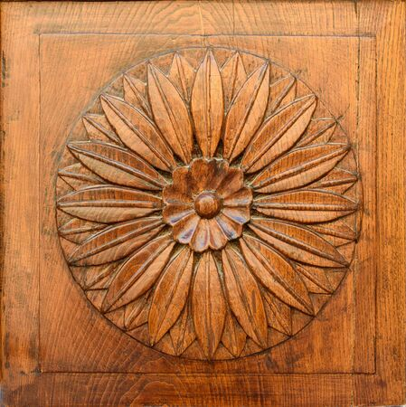 close-up image of an wooden ancient door
