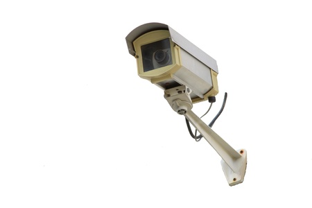electronic security: isolate CCTV Camera