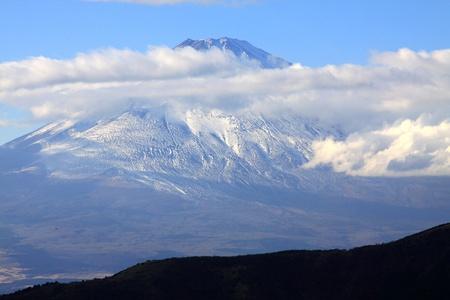 Beautiful fuji mountain in autumn