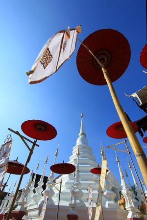 Beautiful temple and buddha in Thailand : Chiangmai (Wat pun tao)