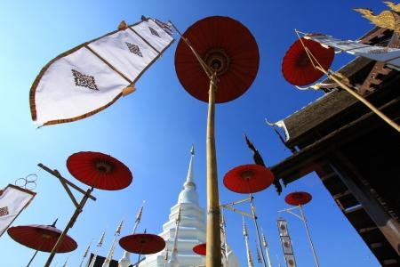Beautiful temple and buddha in Thailand : Chiangmai