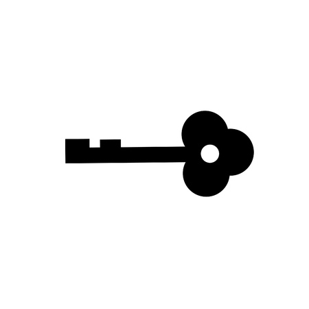 isolate of key on white background Stock Photo - 9680783