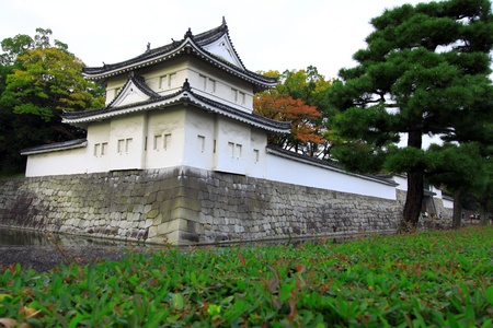 flatland: Nijo Castle , is a flatland castle located in Kyoto, Japan.