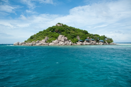 Beautiful tropical paradise in Thailand   Nang Yuan Island, Thailand photo