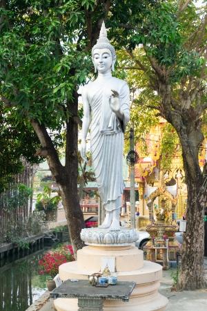 nonthaburi: Beautiful Buddha in temple, Nonthaburi, Thailand