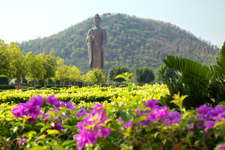 Beautiful and huge budha statue in Thailand