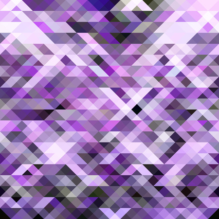 theoretical: abstract purple background with triangles Illustration
