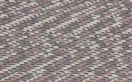 shingles: texture of brown and gray shingles on the roof