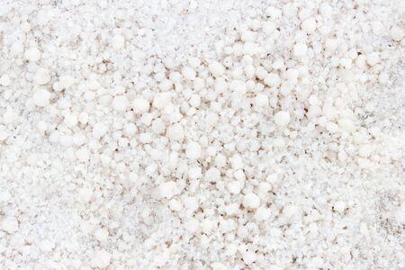 pink diet salt on pink salt lake. Background for decoration of a salt company