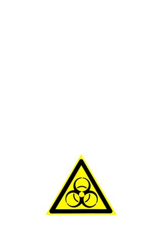 sign of biological danger and biological weapons for warning inscriptions. isolated. Epizootological situation of the epidemic and pandemic. Infectious agents - viruses and microbes that are life-threatening