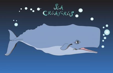 Sperm Whale Vector Stock fotó - 22240949