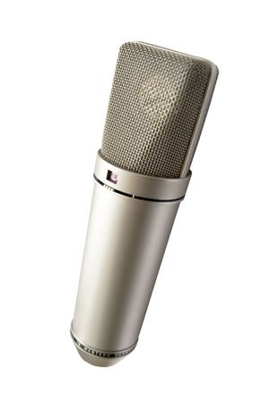 microphone for your voice isolated photo