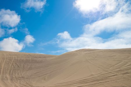 Oregon Sand dunes, and adventure you wont want to pass Stock Photo - 8070651