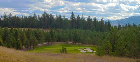 Long day at the golf course in Idaho Banco de Imagens - 8128737