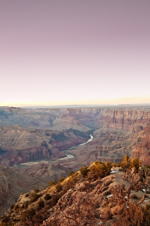 view of the grand canyon from the top with an incredible prehistoric feel to it Stock Photo - 8861783