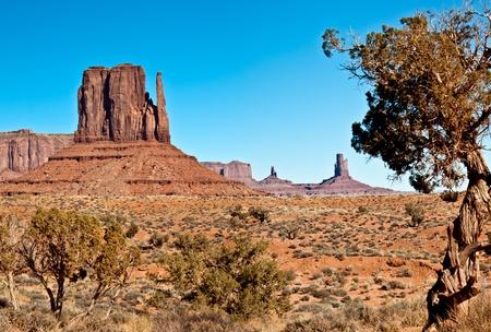 navajo land: Monument valley utah and arizona natural rock formations
