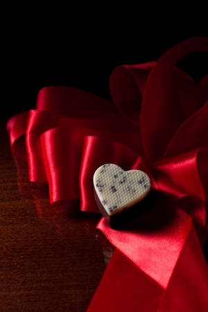 shaped: heart shaped chocolate
