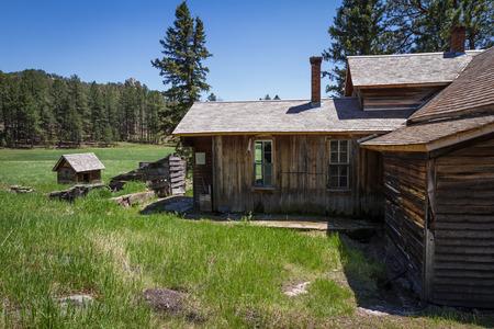 abandoned farmhouse abandoned farmhouse: old abandoned farmhouse in the black hills of South Dakota