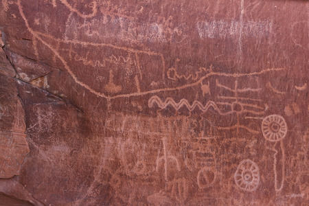 depictions: ancient rock art in southern Nevada. Valley of Fire State Park