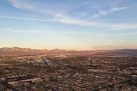 residencial: Las Vegas Nevada - December 14 : Aerial view of residencial North Las Vegas, December 14 2014 in North Las Vegas, Nevada
