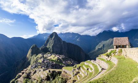 Machu Pichu, Peru: The Lost City of the Incas or Machu Pichu, beautiful site in Peru. Stock Photo - 64330346