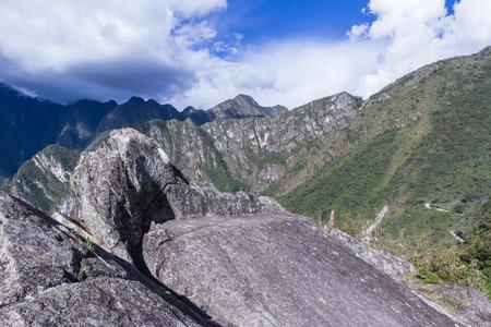 Machu Pichu, Peru: Beautiful mountains surrounding the site of Machu Pichu.